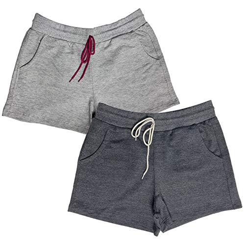 Kit c/ 2 Shorts Dooker Lisboa - Feminino Cor:Cinza - Chumbo;Tamanho:P;Gênero:Mulher