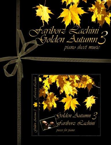 Golden Autumn 3 Piano Sheet Music: Original Solo Piano Pieces
