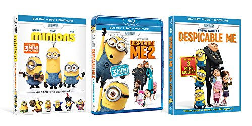 Despicable Me / Despicable Me 2 / Minions (shrink-wrapped bundle) [Blu-ray]]()