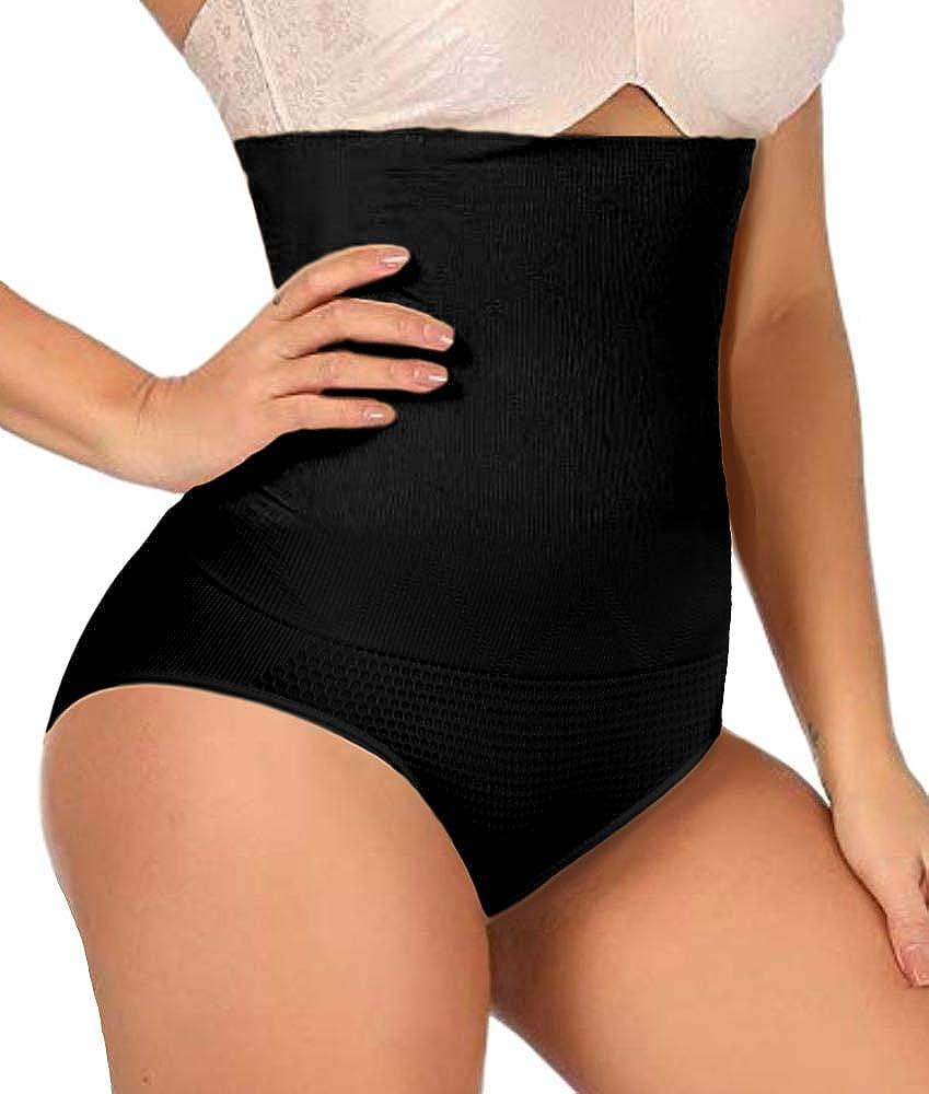 ShaperQueen 102C Panty Shaper - Womens Waist Cincher High-Waisted Girdle Body Brief Tummy Control Underwear Shapewear