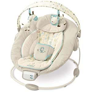 Bright Starts Comfort and Harmony Bouncer, Biscotti Baby (Discontinued by Manufacturer)