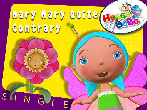Mary Mary Quite Contrary Nursery Rhymes By HuggyBoBo -