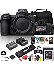$3289 » Nikon Z 7II Mirrorless Digital Camera 45.7MP (Body Only) (1653) + 64GB XQD Card + Corel Photo Software + Case + HDMI Cable + Cleaning Set + Hand Strap + More - International Model (Renewed)