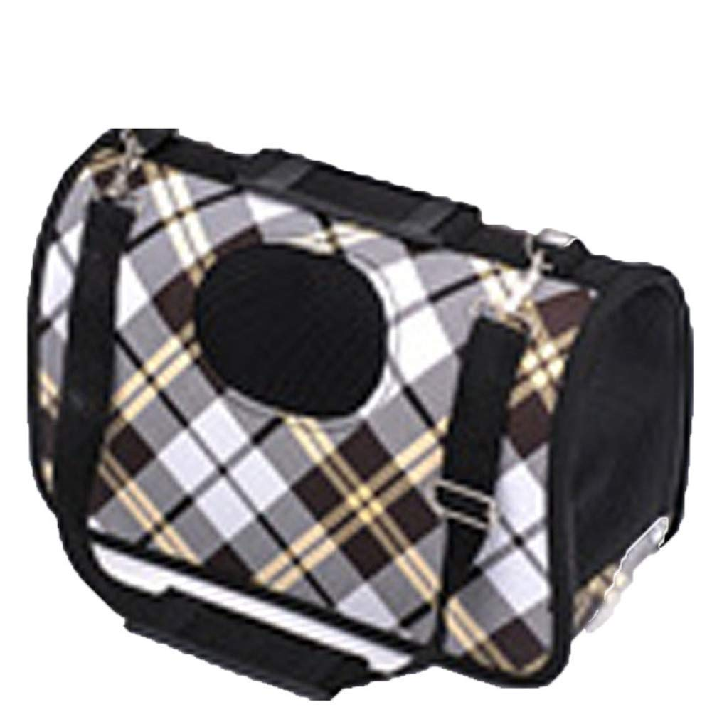 Black MediumComfortable Dog Backpack Pet Front Bag with Breathable Head Out Design and Padded Shoulder for Hiking Outdoor Travel