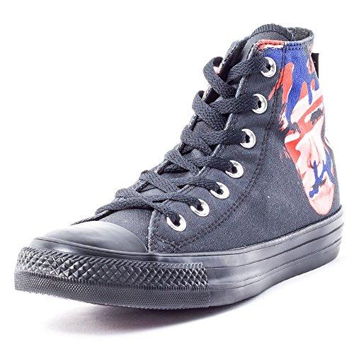 Converse Star Prem Ox Warhol, Sneaker Unisex - Adulto Nero/Rosso/Blu