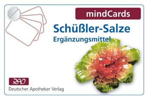 mindCards Schüßler-Salze Ergänzungsmittel, Kartenfächer