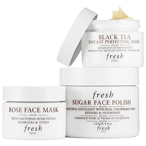 Fresh Face Mask Essentials Trio~ Fresh Black Tea Instant Per