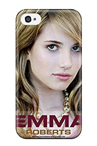New Cute Funny Emma Roberts?wallpaper Case Cover/ Iphone 4/4s Case Cover