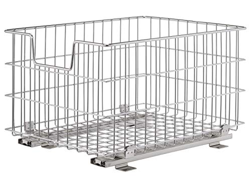 TRINITY Ecostorage Wire Basket with Slides