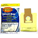 Kenmore 50688 Vacuum Bags Microfiltration with Closure - 10 Pack, Panasonic U-2 Vacuums.