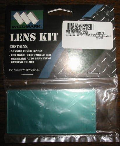 Weldmark Inside Lenses for Black Red Flames /& Blue Flames Welding Helmets