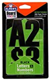 Elmer's Project Popperz Repositionable Paper Letters and Numbers, 300+ Glue and Stick Pieces, 2.5 Inch, Black (E3069)