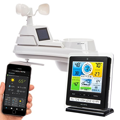AcuRite 01079M Pro Weather Station with PC Connect, PRO+ 5-in-1 Weather Sensor and My Remote Monitoring App