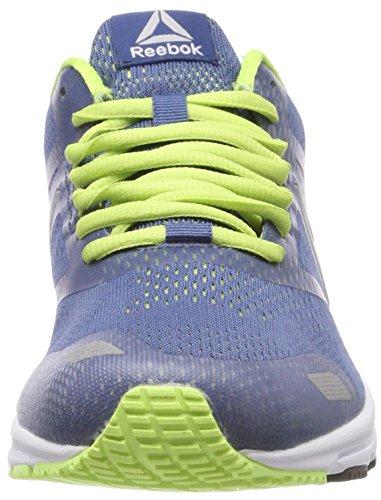 electric Zapatillas Flash De Reebok 000 washed Para silver Running Runner Blue Azul Ahary Hombre BfPnPva