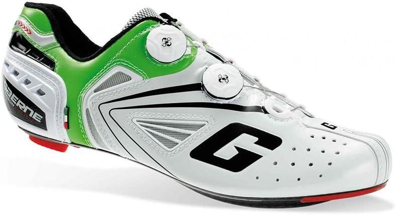 Gaerne Carbon G.Chrono Zapatillas de Carretera, Verde - Blanco, 39.5: Amazon.es: Deportes y aire libre