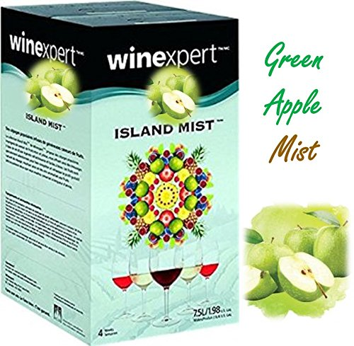 (Island Mist Green Apple Riesling Wine Kit by Winexpert)