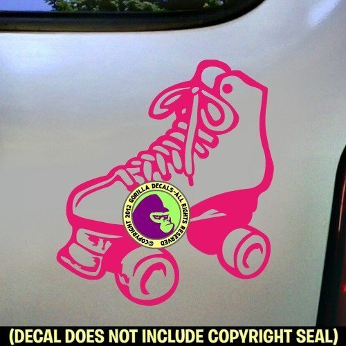 Roller Skating Vinyl Decal Sticker D