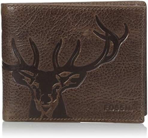 Fossil Men's Jack Large Coin Pocket Bifold Wallet