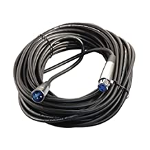 50 Foot XLR 3 Pin Male / Female Microphone Cable