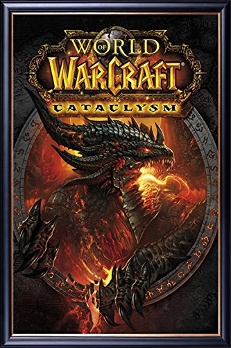 FRAMED The Return Of Deathwing - World of Warcraft 3 24x36 P