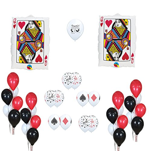 - Casino Party Supplies Casino Balloons Decoration Kit