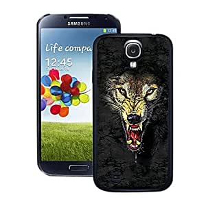 LZX Wolf Pattern 3D Effect Case for Samsung S4 I9500