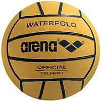 Arena 0000095202palla di watepolo, Uomo, Yellow/Black, taglia unica