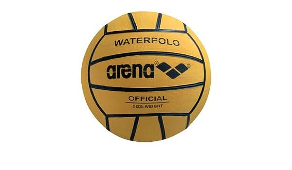 ARENA 0000095202-039 Balón de Waterpolo, Hombre, Amarillo (Negro ...