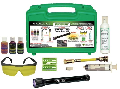 Spectronics Corp/Tracer TP8621 LeakFinder Air Conditioner and Fluid Leak Detection Kit (Best Leak Detection Equipment)