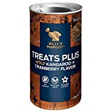 Billy + Margot Treats Plus, Grain Free Dog Treats, Wild Kangaroo + Cranberry Flavor, 3.5 Ounce Can, Case of 12 For Sale