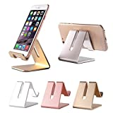 Aluminum Stand Holder for iPhone, Smartphone, Cell Phone, iPAD and Tablet (Rose Pink) by Pdair