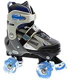 SFR Typhoon Adjustable Roller Skates - Blue