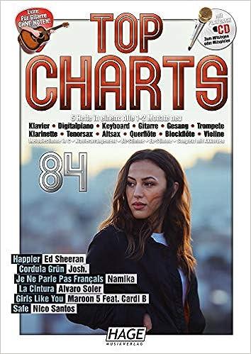 Das beste aus den Charts Songbook mit CD Top Charts 83
