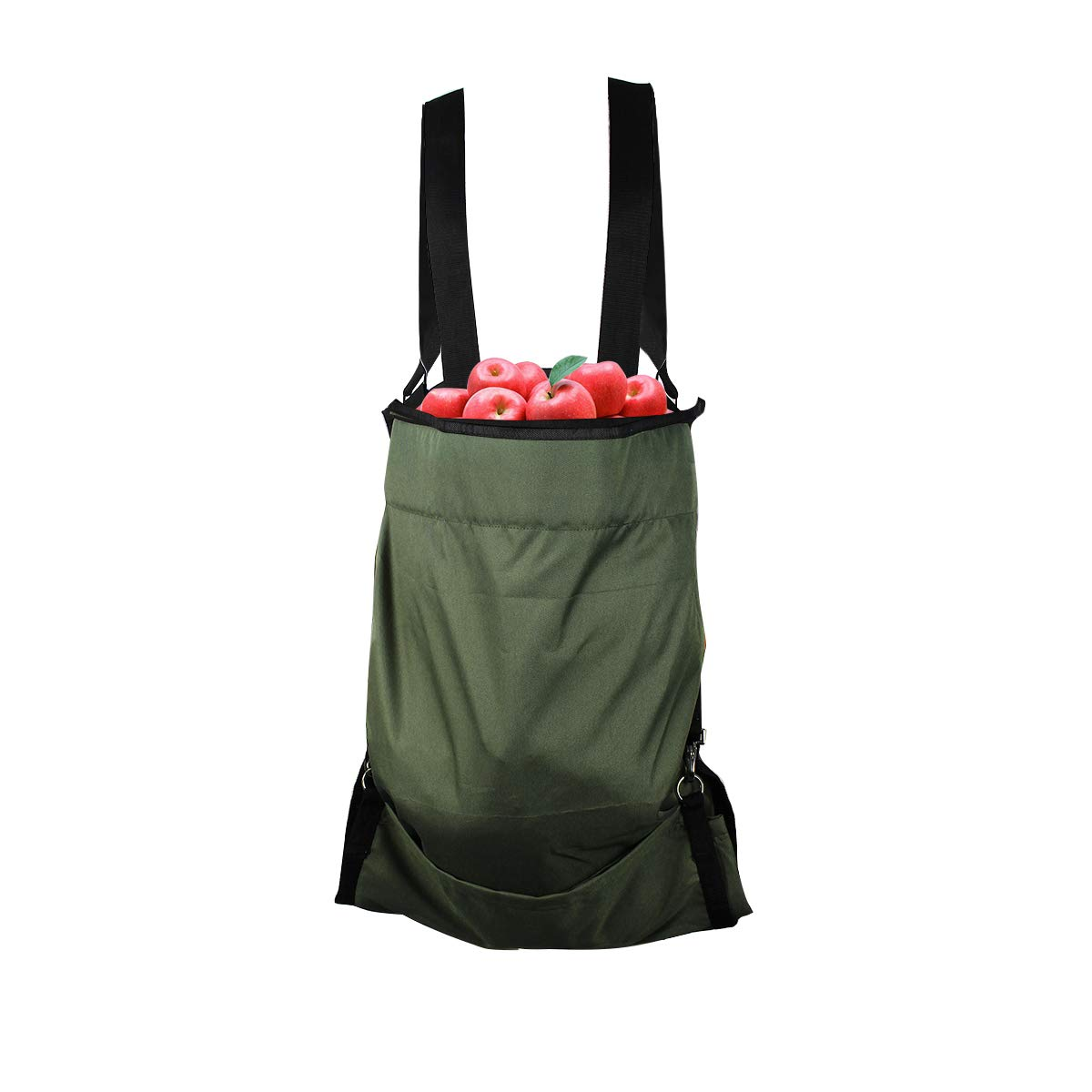 vismile Harvest Garden Apron Fruit Picking Bag