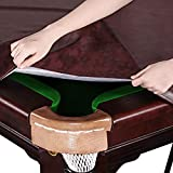 Kohree 8 Foot Heavy Duty Leatherette Billiard Pool
