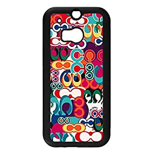 Artistic Pattern Coach Phone Case Cover For Htc One M8 Coach Fashionable