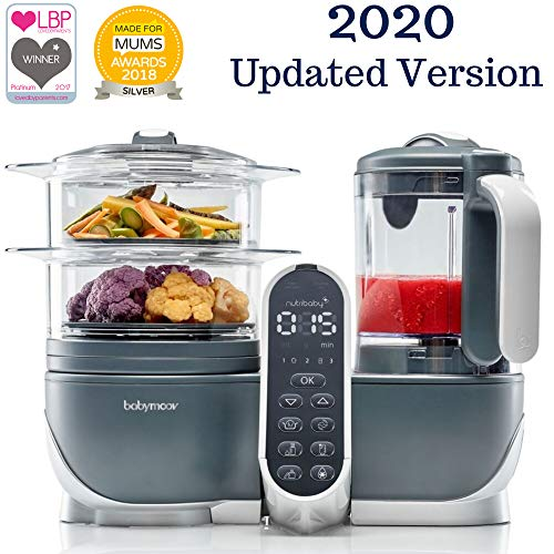 Duo Meal Station Food Maker | 6 in 1 Food Processor with Steam Cooker, Multi-Speed Blender, Baby Purees, Warmer, Defroster, Sterilizer (2020 UPDATED VERSION) from Babymoov