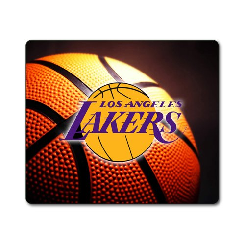 Lakers Basketball Large THICK Mousepad Mouse Pad Great Gift Idea Los Angeles