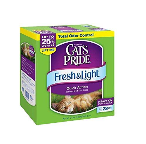 Cat's Pride Fresh and Light Multi-Cat Scoopable Premium Clumping (Premium Scoopable Litter)