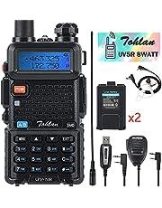 Tohlan UV-5R 8Watt Handheld Ham Radio 6 in 1 Set