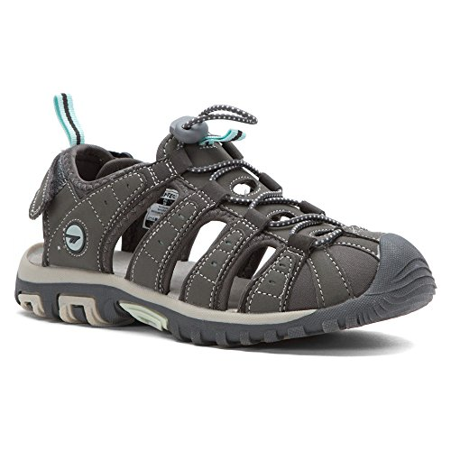 Hi-Tec Womens Shore Water Shoe Gray/Charcoal