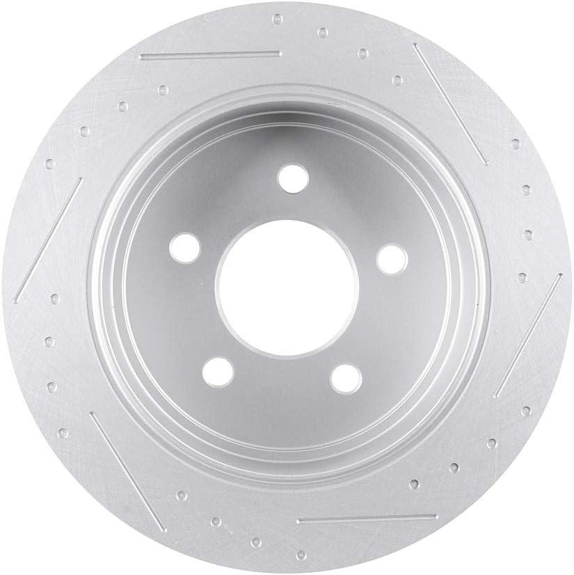 2pcs Front Drill Slot Brake Discs Rotors Fit 2002-2005 Explorer Mountaineer