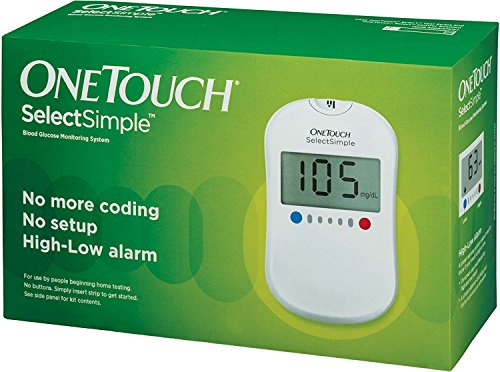 One Touch Ultra - OneTouch Select Simple Glucometer with Box