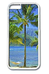 Kaui Hawaii 2 Polycarbonate Hard Case Cover for iphone 6 plus 5.5inch Transparent