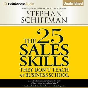 The 25 Sales Skills Audiobook