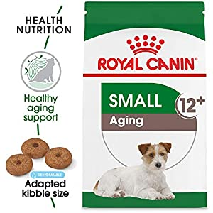 Royal Canin Small Aging 12+ Dry Dog Food for Senior Dogs, 12 lb. bag