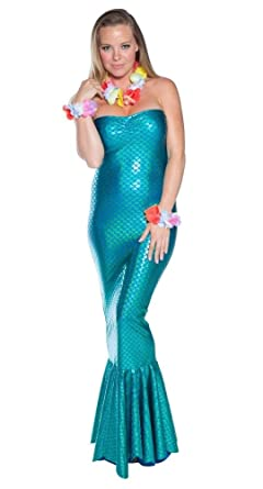 delicate illusions ocean nymph mermaid womens halloween costume s 3 5 turquoise