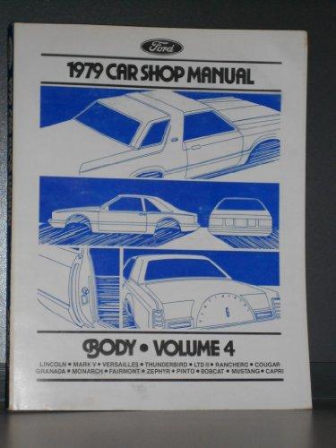 1979 Ford Car Shop Manual - Body - Volume 4
