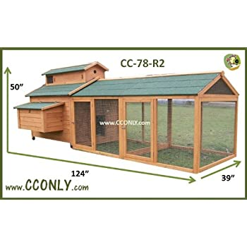Amazon Com Cc Only Cc 78 R2 Chicken Coop Hen House Or