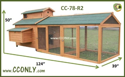 CC-Only-CC-78-R2-Chicken-Coop-Hen-House-or-Rabbit-Hutch
